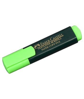 Picture of HIGHLIGHTER FABER TEXTLINER CLASSIC GREEN