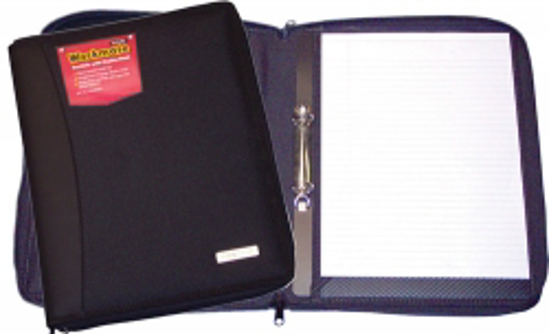 Picture of PORTFOLIO W/MATE COLBY ZIP W/ 2 RING INSER