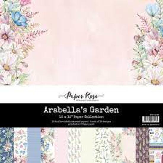 Picture of ARABELLAS GARDEN 12X12 PAPER