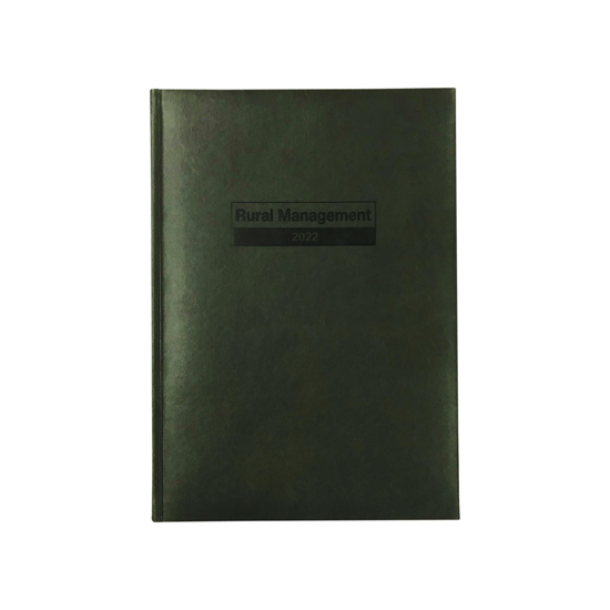 Picture of DIARY 2022 DEBDEN A4 RURAL MANAGEMENT WTV GREEN