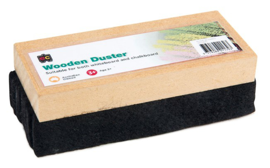 Picture of ERASER CHALK WOODED BLACKBOARD DUSTER